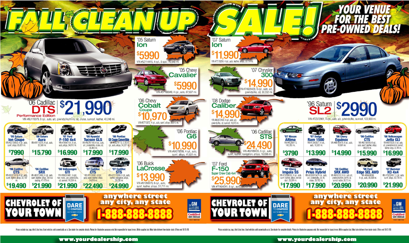 Amp Used Car Dealership >> Car Ads In Newspapers Newspaper designed ads. Images - Frompo